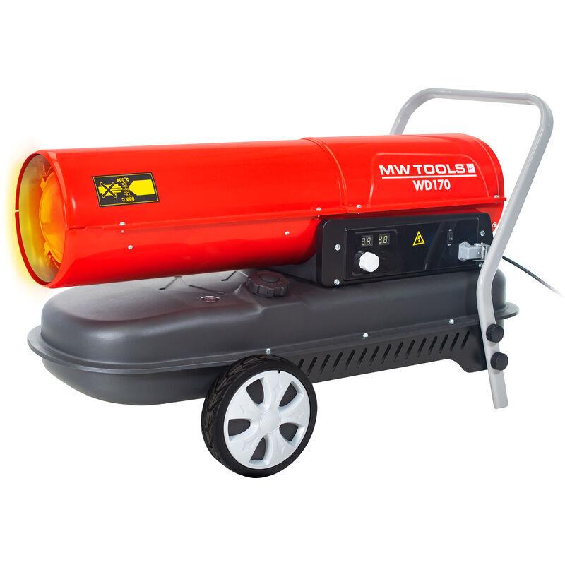 MW-TOOLS Canon à chaleur fioul 50 kW WD170 - Mw-tools
