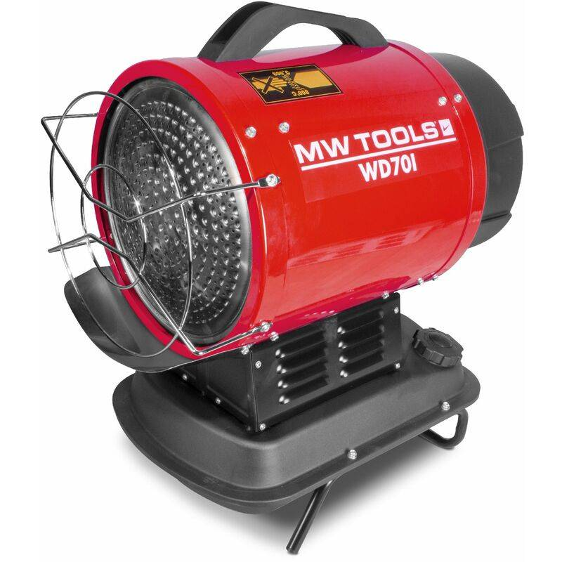 MW-TOOLS Canon à chaleur infrarouge fioul 20 kW MW-Tools WD70I
