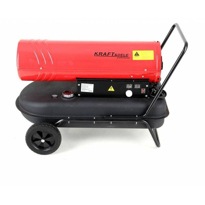 HUCOCO DCRAFT   Chauffage d'appoint au fioul 35 kW   Canon a chaleur diesel