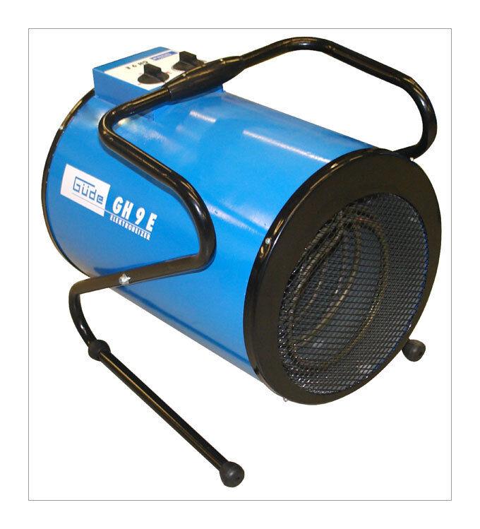 GUEDE Chauffage d'atelier - Canon de chauffe électrique GH 9 E - GUEDE