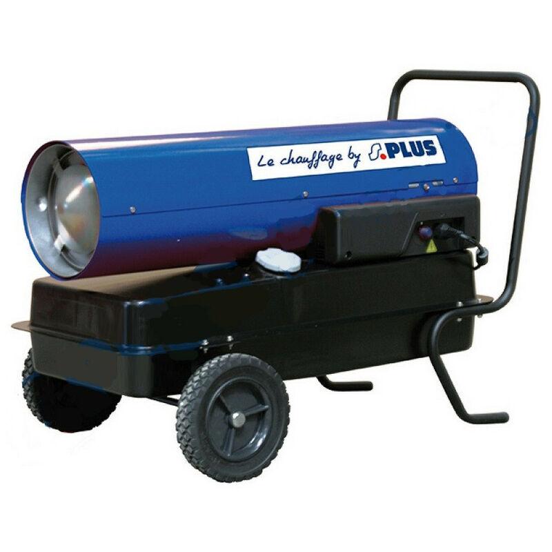 Splus - Générateur d'air chaud fioul combustion directe 30kW - CF 20.1