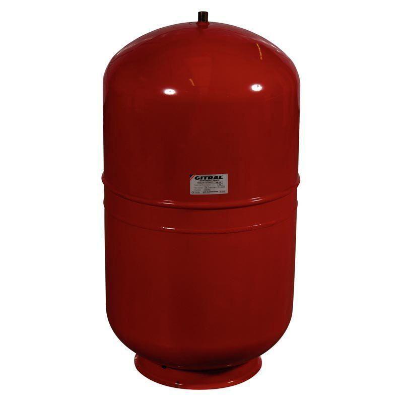 GITRAL Vase d'expansion GITRAL a membrane sur socle 200 litres, Ref.MB200
