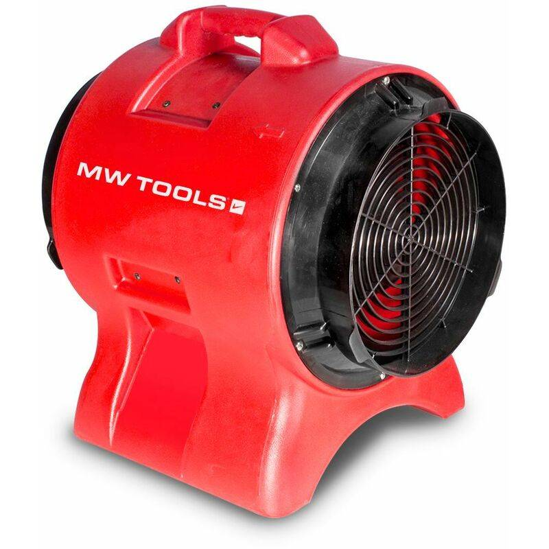 MW-TOOLS Ventilateur extracteur mobile 300 mm - 750 W MV300PP - Mw-tools