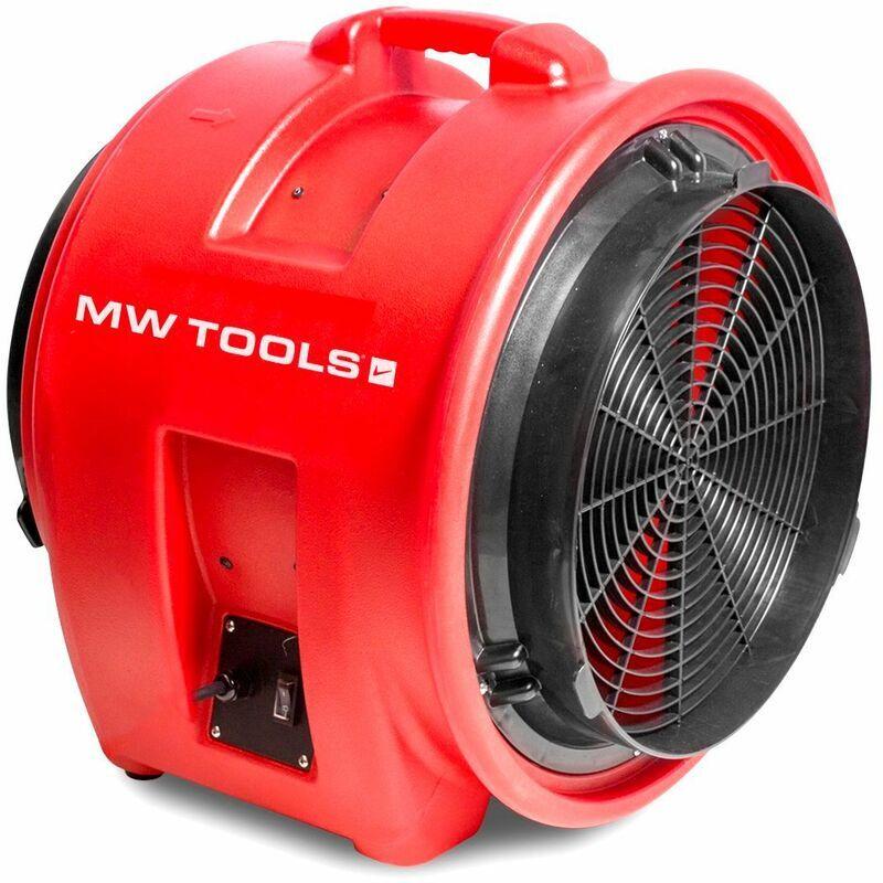 MW-TOOLS Ventilateur extracteur mobile 400 mm - 700 W MV400PP - Mw-tools