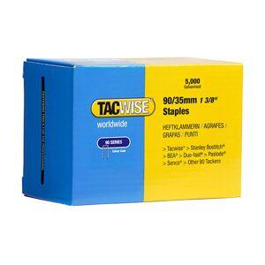 TACWISE 5 000 agrafes galvanisées L. 35 mm type 90 - 0310 - Tacwise - Publicité