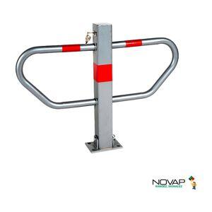 Novap - Barrière de parking Haute résistance avec accès pompiers - Publicité