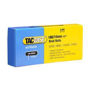 TACWISE Boîte de 5000 clous de finition de type 18G L. 10 mm - TA-0392 - Tacwise - Publicité