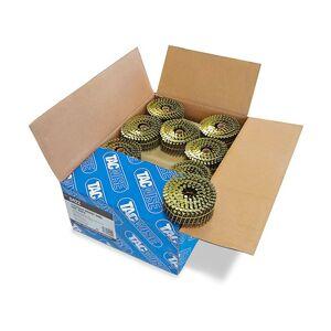 Tacwise - Boîte de 9000 clous à tête plate, annelés en rouleau D. 2,5 x - Publicité