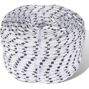 Vidaxl - Corde de bateau tressée Polyester 12 mm 250 m Blanc - Publicité