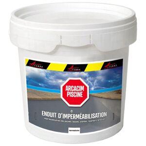 ARCANE INDUSTRIES Enduit Piscine Hydrofuge - Etanchéité Piscine & Cuvelage - Béton, - Publicité