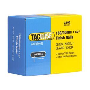 TACWISE Boîte de 2500 clous de finition de type 16G L. 40 mm - TA-0319 - Publicité