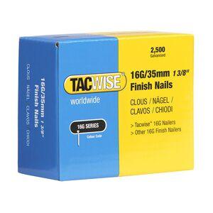 TACWISE Boîte de 2500 clous de finition de type 16G L. 35 mm - TA-0295 - Publicité