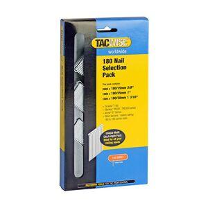 TACWISE Boîte de 4000 clous type 180 L. 15/25/30 mm - TA-0205 - Tacwise - Publicité