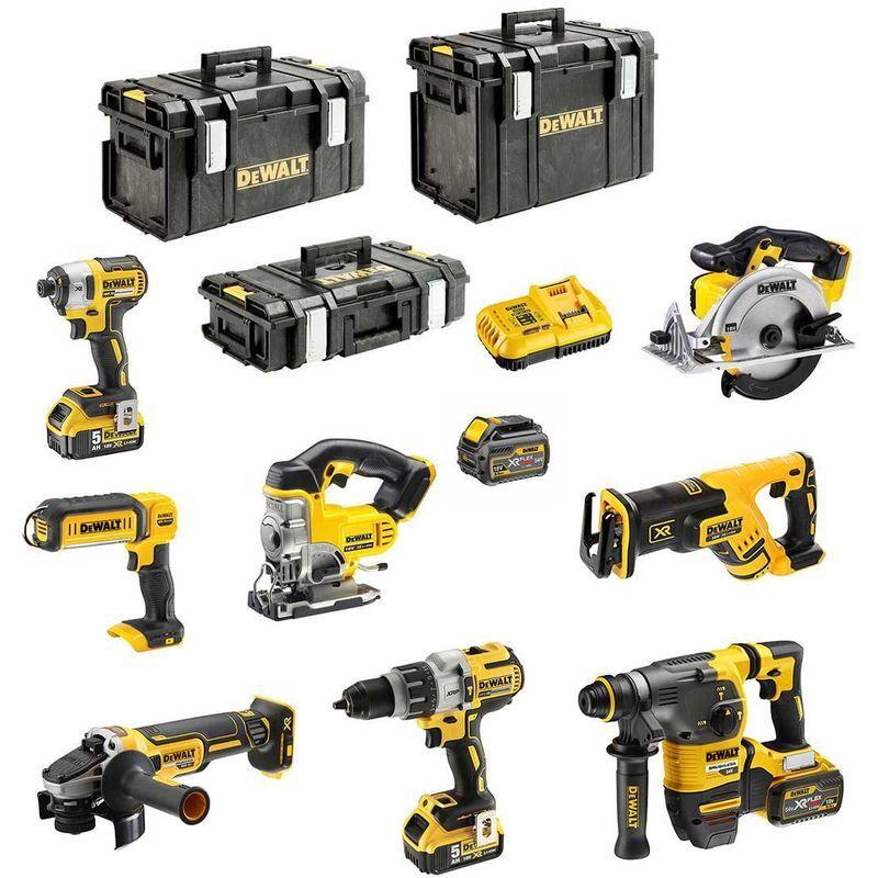 DeWALT Kit DCK-FR833BMPDSB (DCD996 DCG405 DCH333 DCS367 DCS391 DCS331