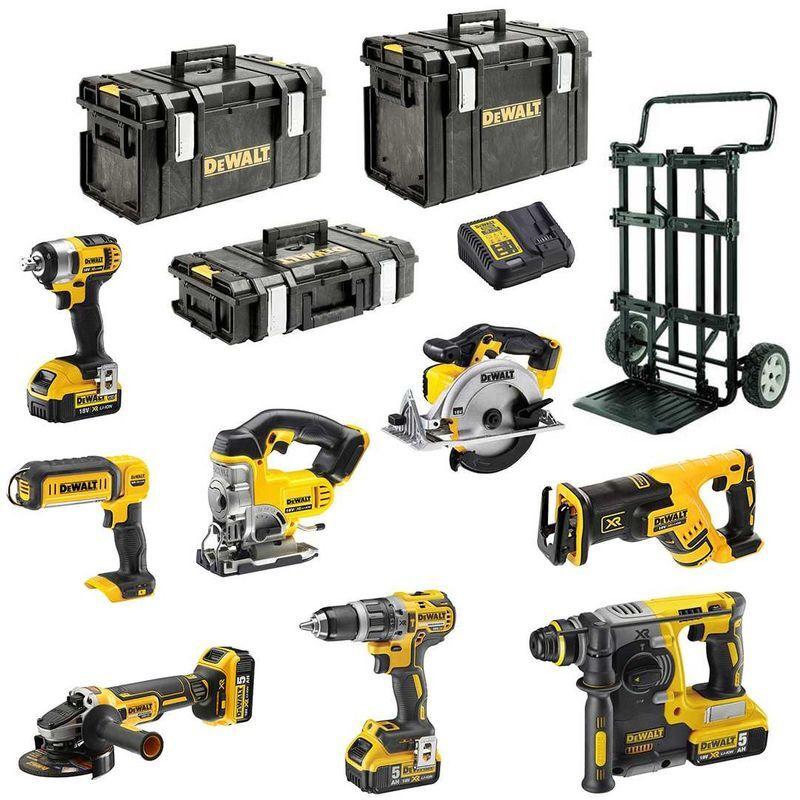 DeWALT Kit XP895P4DSB (DCD796 DCG405 DCH273 DCS367 DCS391 DCS331 DCL050