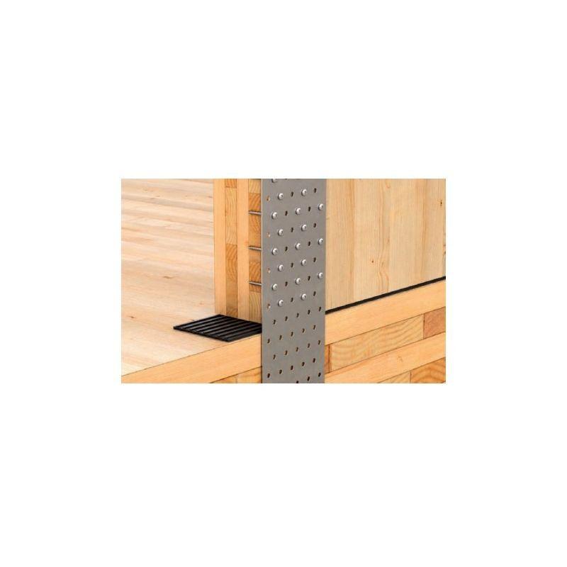SUD BOIS Vis à tête ronde et base plate LBS pour menuiserie Dimensions 5x70 mm