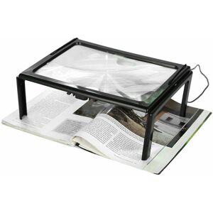 Briday - Loupe LED journal pliable ultra mince A4 pleine page loupe - Publicité
