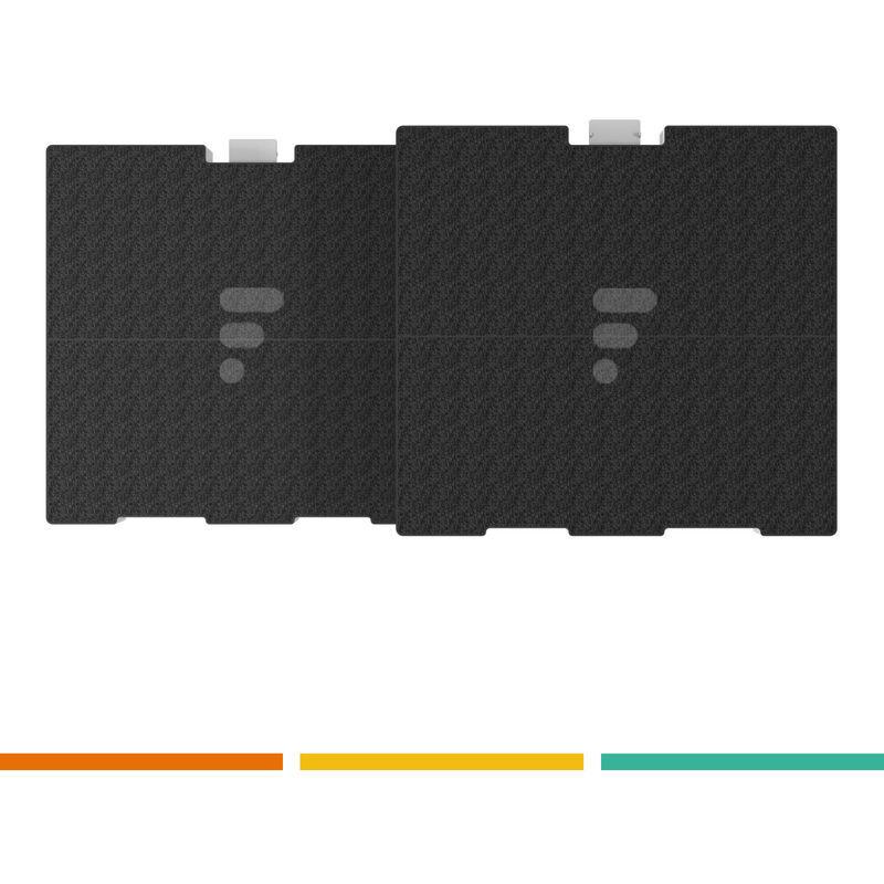 BOSCH FC24 - Filtre à charbon compatible hotte DWW06D650 - Bosch