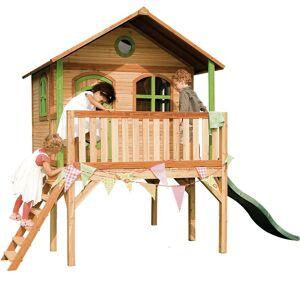 AXI Sophie Playhouse: Maisonnette pour enfants, fenêtres intégrées et bois - Publicité