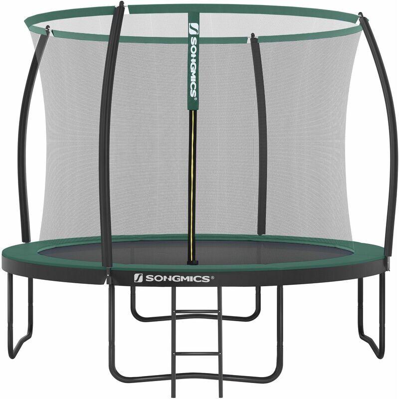 Songmics - Trampoline extérieur, diamètre 305 cm, Équipement jardin,