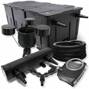 WILTEC SunSun Kit de filtration de bassin 90000l 36W St�rilisateur NEO8000 70W - Publicité