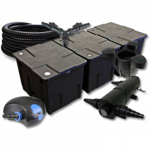 Wiltec - SunSun Kit filtration de bassin 90000l avec 36W Stérilisateur - Publicité