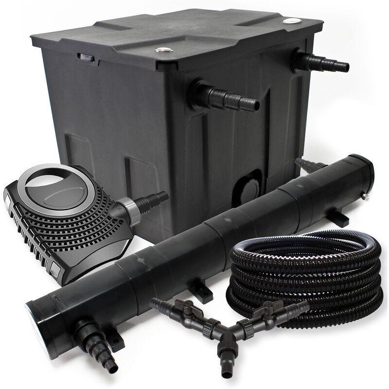 Wiltec - Kit de filtration de bassin pour 12000l 72W St?rilisateur