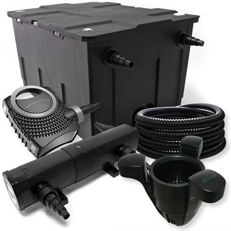 Wiltec - Kit de filtration avec Pond Filter 60000l, 24W St?rilisateur,