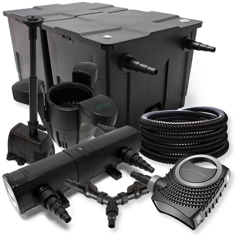 Wiltec - SunSun Kit filtration bassin 60000l 18W Stérilisateur NEO10000