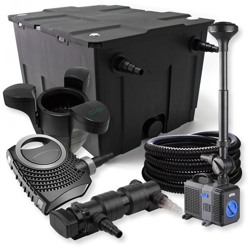 Wiltec - SunSun Kit de filtration de bassin 60000l 24W UV Stérilisateur
