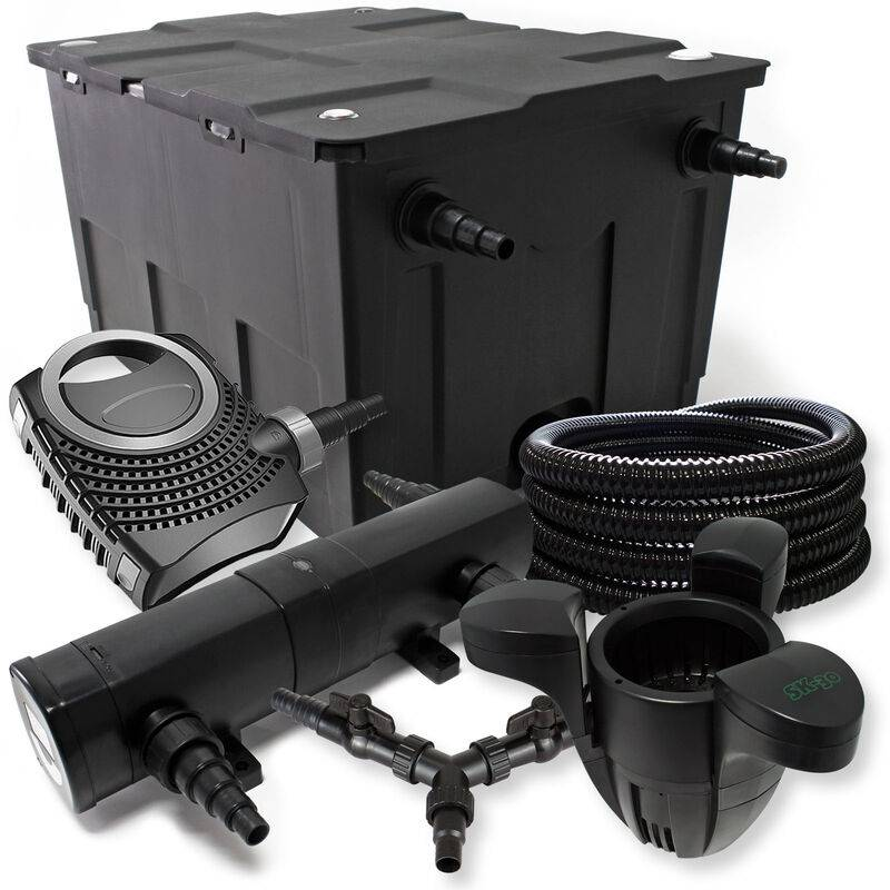 Wiltec - SunSun Kit filtration bassin 60000l 24W Stérilisateur NEO8000