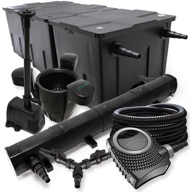 Wiltec - SunSun Kit filtration de bassin 90000l 72W St?rilisateur