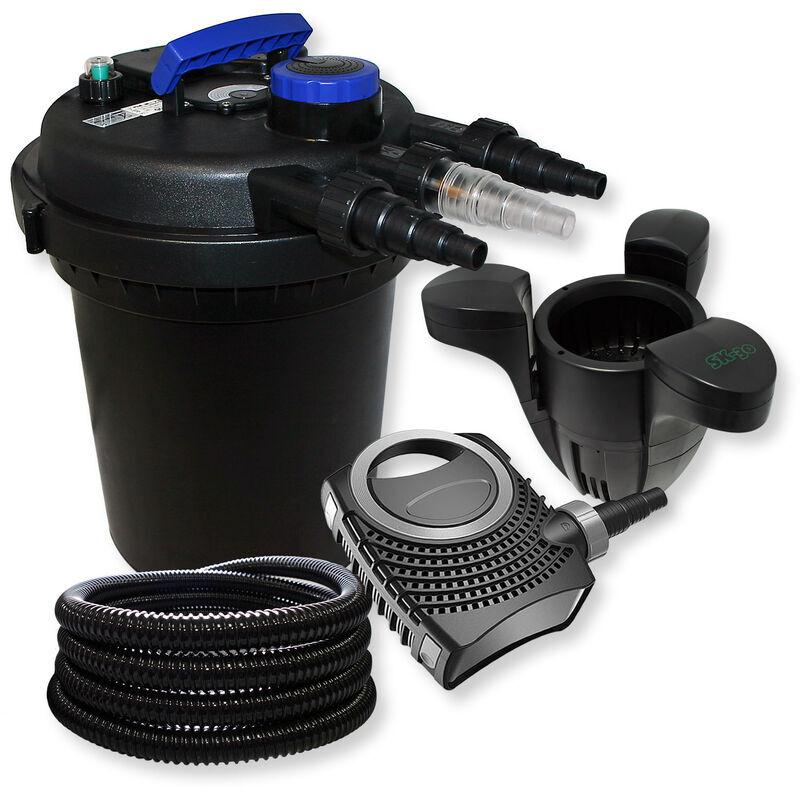Wiltec - SunSun Kit filtration bassin ? pression 6000l 11W UVC NEO8000