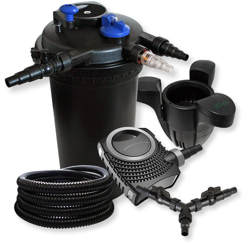 Wiltec - SunSun Kit filtration bassin à pression 30000l 18W UVC NEO8000