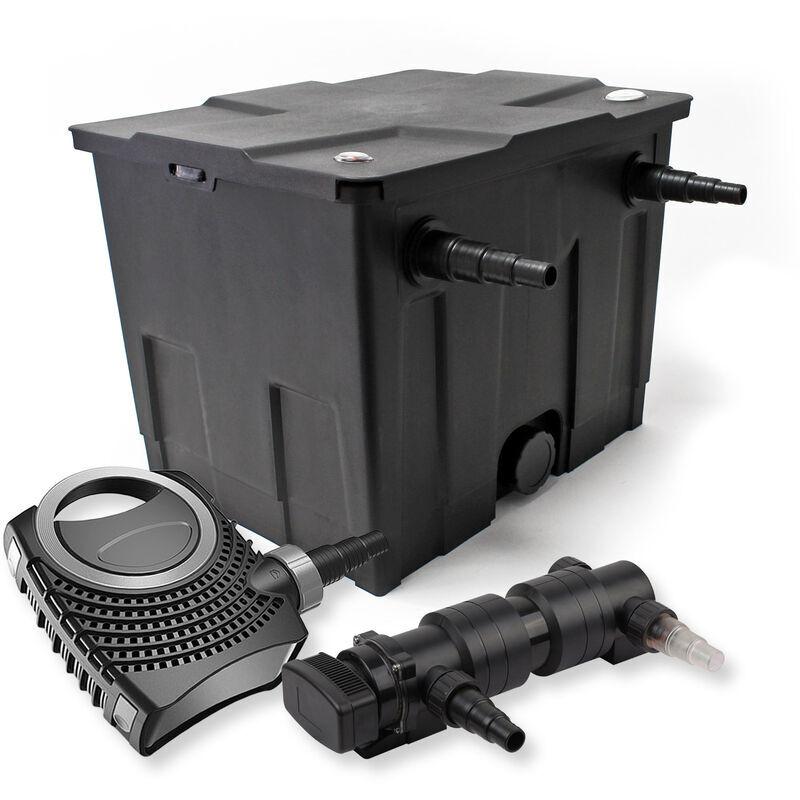 Wiltec - SunSun Kit de filtration de bassin 12000l 24W UVC 6.