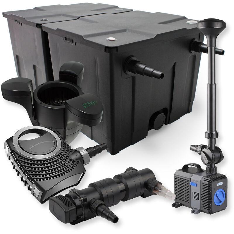 Wiltec - SunSun Kit de filtration de bassin 60000l 18W UVC