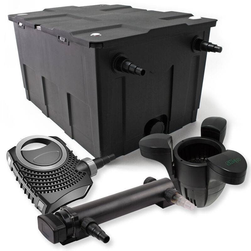 Wiltec - SunSun Kit de filtration de bassin 60000l 24W UVC 3.