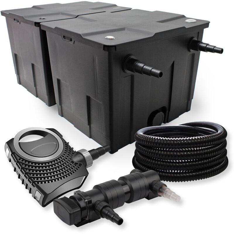 Wiltec - SunSun Kit de filtration de bassin 60000l 24W UVC 6.