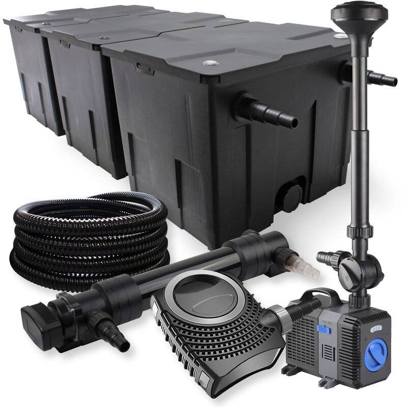 Wiltec - SunSun Kit de filtration de bassin 90000l 36W UVC