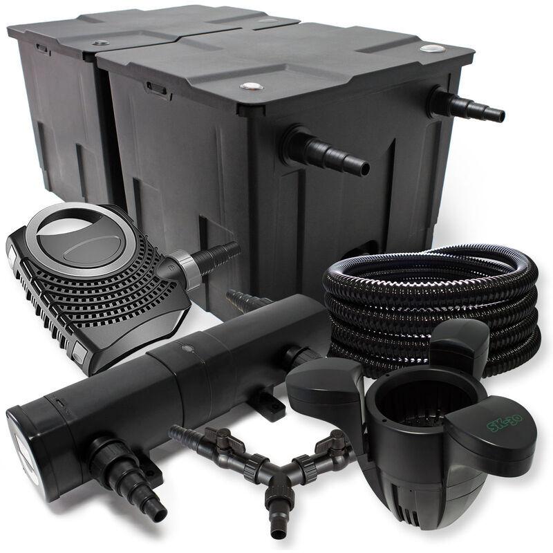 Wiltec - SunSun Kit filtration bassin 60000l 24W Stérilisateur NEO10000