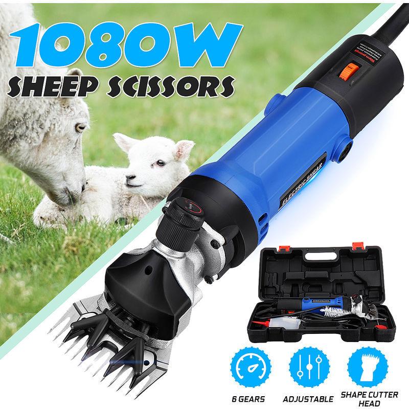 1080w Tondeuse Électrique Cisaille à Laine Mouton Ciseaux Outil – ZEBRAA
