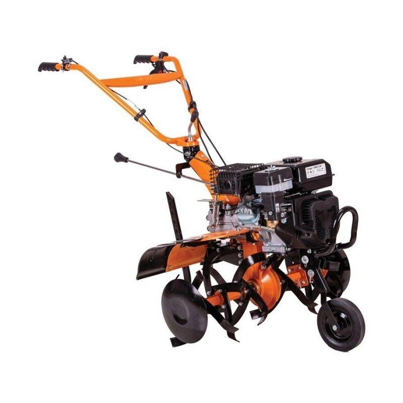 Villager – Motoculteur thermique 5,5 Cv vitesses 3 AV 1 AR travail 85cm charrue butteur VTB853