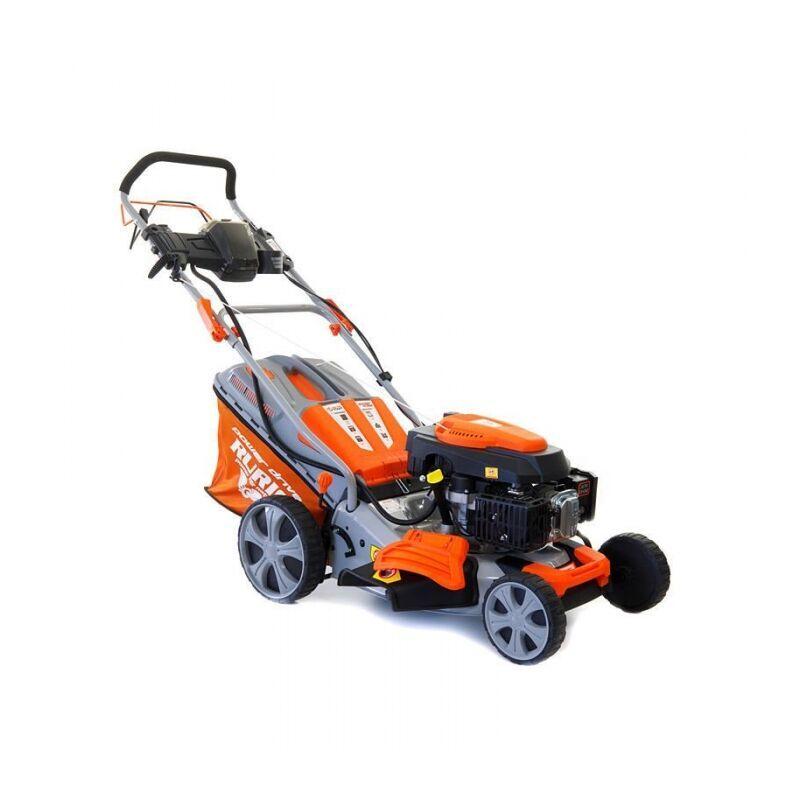 RURIS Tondeuse à gazon démarrage électrique 4,5 cv 173 cc coupe 46 cm Ruris