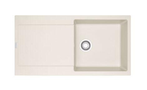 FRANKE Evier MARIS FRAGANIT MRG611-97 Vanilla (sous meuble 60cm) 970x500x205mm