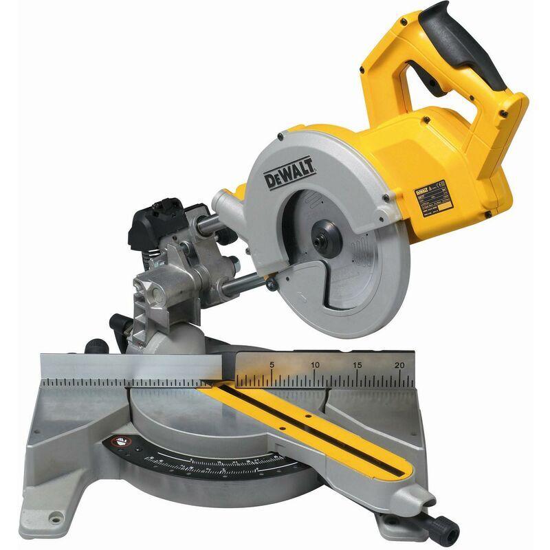 DeWALT Scie à onglets radiale 1600W, 216 mm - DWS771-QS