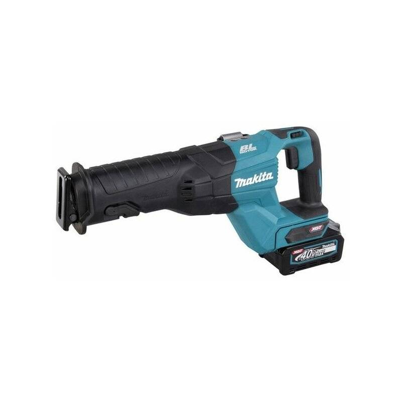 Makita Scie alternative sans fil 40V, 2 x batterie 4Ah, chargeur rapide