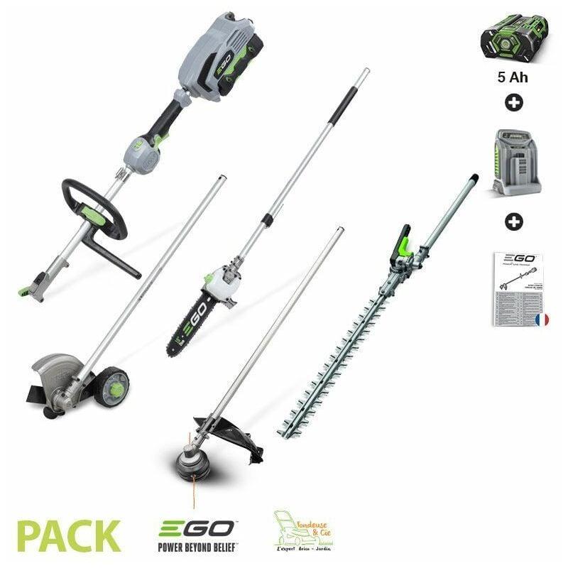 Ego Power+ - Pack outil de jardin multifonction à batterie 56v 4 en 1