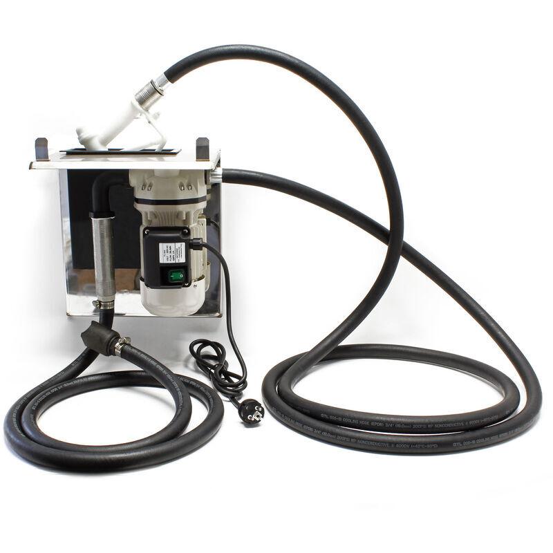 Wiltec - Pompe de transfert d'urée 40l/min Plaque de support AUS32
