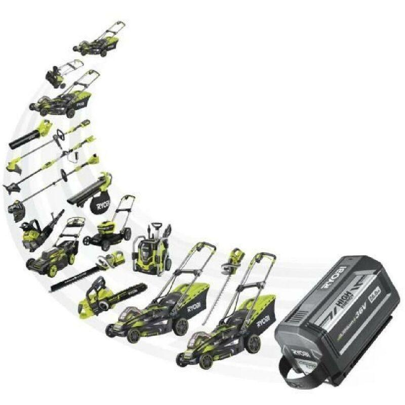 RYOBI Tronçonneuse 36V 1 batterie 5Ah - Guide 35 cm Brushless