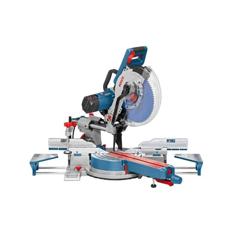 BOSCH Scie radiale + onglet 1800 W GCM12SDE - 0601B23100 - Bosch